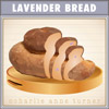 Lavender and Hazlenut bread