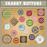 Shabby Buttons